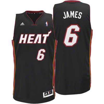 best service 2c1fd 8b3b0 LeBron James Youth Jersey: adidas NBA Replica Miami Heat ...